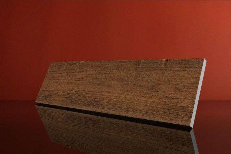 Panel drewnopodobny złocisty PLE11