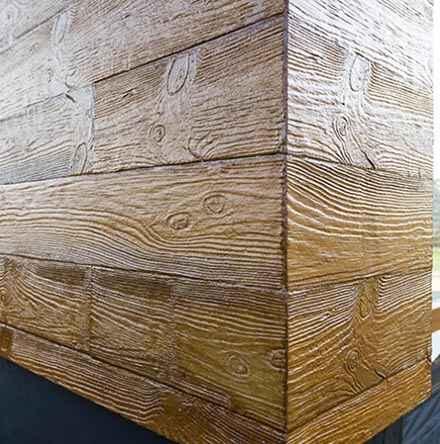 drewnopodobne panele elewacyjne