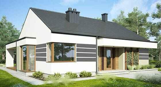 wizualizacja projektu domu 3d